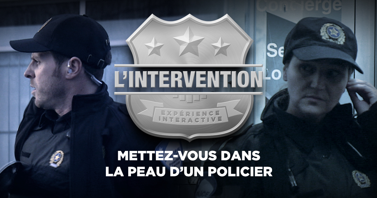 l 39 intervention mettez vous dans la peau d 39 un policier exp riences interactives forum. Black Bedroom Furniture Sets. Home Design Ideas